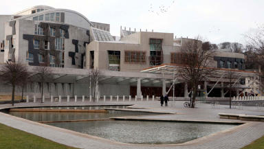 Holyrood: Hundreds of cyclists expected to rally outside.