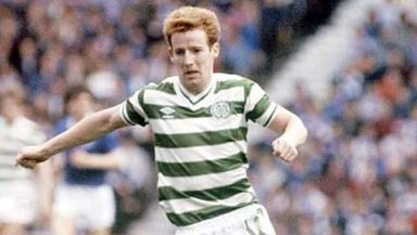 Tommy Burns: In action for Celtic.