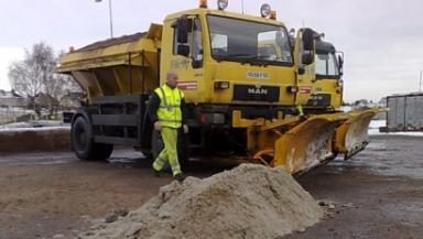 Winter: Gritters are ready to roll this winter.