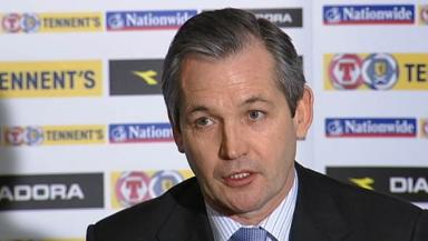 George Burley sacked as Scotland manager