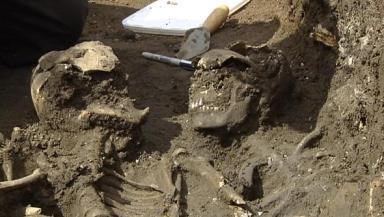Skeletons removed from Edinburgh street