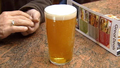Pub goers offered blood pressure test with pints