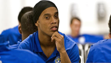 Brazilian Buddie?: Sadly, Ronaldinho's move to the SPL collapsed at the last minute.