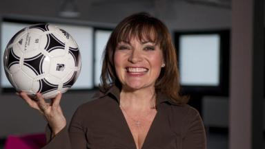 Tangerine dream: Lorraine Kelly will introduce the ten midfielders for you to choose from.
