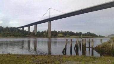 A-list: The landmark Erskine Bridge.
