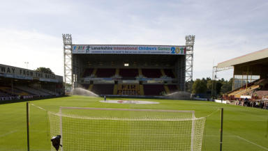 Slim pickings: Fir Park will play host to neither Rangers or Celtic after the split, hitting Motherwell in the pocket.