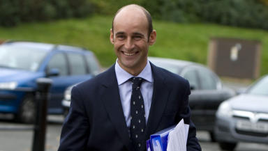 Grin and bear it: Martin Bain has joined the chorus of disapproval over the SPL's post-split fixture list.