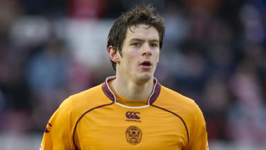 Well good: On-loan Everton striker Lukas Jutkiewicz wants to extend his stay with Motherwell.
