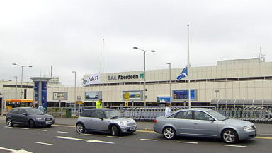 Nine in court over alleged Aberdeen Airport protest