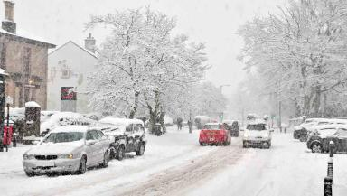 Weather: Parts of Scotland could be set for a white Christmas.