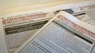 Government proposal could signal death knell for local newspapers