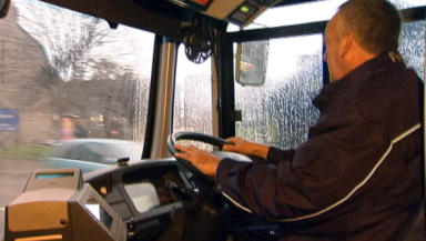 Buses: Support 260,000 jobs in Scotland (file pic).