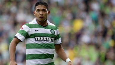 Just like watching Brazil: Izaguirre's debut saw him compared to Roberto Carlos.
