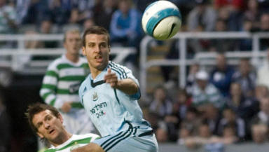 No go: Steven Taylor (right) has missed out on a move to Celtic after the SPL club had a loan move rejected.