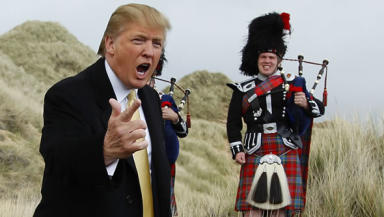 Trump plans toughest hole in the world in Aberdeenshire