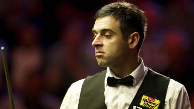 Them's the breaks: O'Sullivan was ready to leave his record breaker incomplete.
