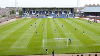 On the brink: Dundee FC are in administration for the second time in seven years and face an uncertain future.