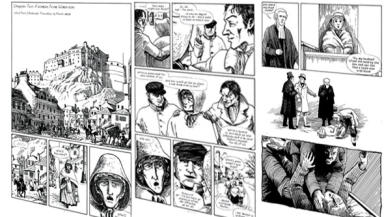 Sinister: The book features images by comic artist Will Pickering.