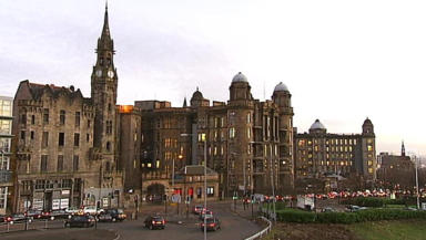 Glasgow Royal Infirmary: Man suffered serious head injuries.