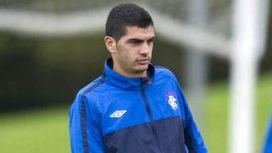 On hold: Salim Kerkar's hopes of moving to Rangers could be in jeopardy, with Gueugnon claiming they are due cash.
