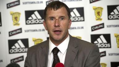 Video: Stewart Regan's referee press conference in full