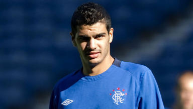 Deal: Salim Kerkar has, at long last, signed a deal to stay with Rangers until the end of the season.