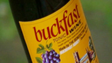 Buckfast: People in Glasgow most likely to drink the tonic wine.