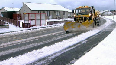 Icy Roads: Motorists warned following rainfall.