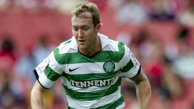 Aiden McGeady left Celtic for Spartak Moscow in the summer and has impressed in Russia, despite his last day red card.