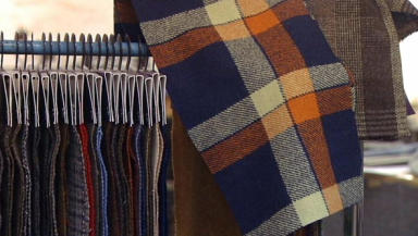 Harris Tweed mill in designer deal