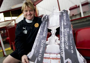 Dens bound: Stuart McCall will lead his side into their fourth round clash with Dundee on Sunday