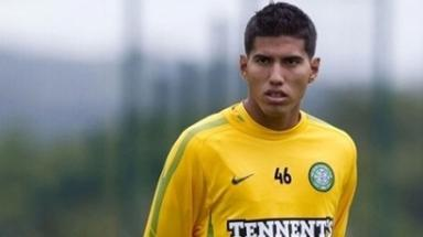 Adrian Ruelas trained with Celtic for four months but has now returned to Santos Laguna.