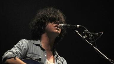 Solo: The View singer Kyle Falconer.