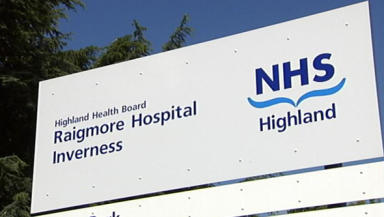 Raigmore: Winter vomiting bug affected 47 patients.