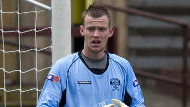 Michael Andrews has played 14 times for East Stirlingshire this season but has been ineligible for the last two games.