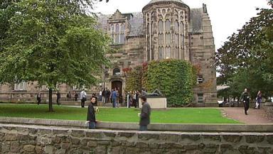 Aberdeen University: Wants to improve access.