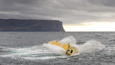 Wave Power: Pentland Firth and Orkney expected to be successful.