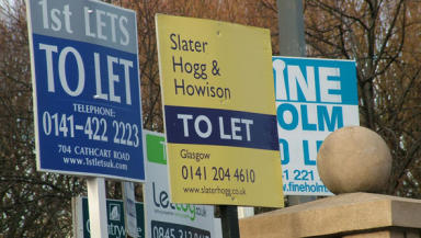Sales: More properties are being bought, but experts warn growth will remain slow in 2010.