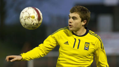 James Forrest has already represented Scotland at under-19 and Under-21 level.
