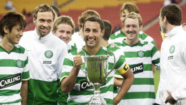 Former Celtic player Scott McDonald captained the team on their last visit to Australia in 2009.