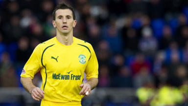 Liam Miller: The midfielder spent two years at Hibs.