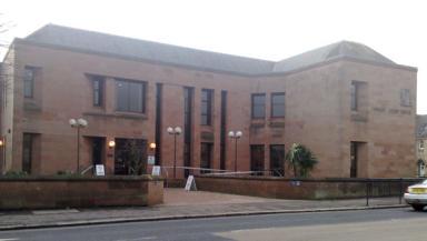 Kilmarnock Sheriff Court: Child abduction trial.