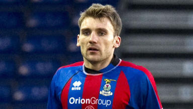 Chris Hogg made 12 appearances in his short spell with Inverness Caledonian Thistle last season.