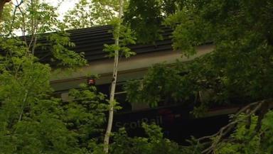train derailment: Scene of the accident