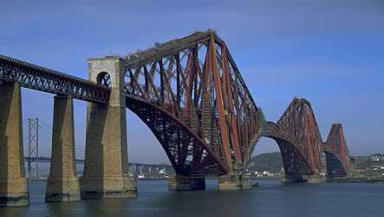 Bridge: The Forth Rail Bridge is considered one of the 19th century's greatest feats of engineering.