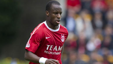 Former Aberdeen midfielder Sone Aluko has been given the chance to win a dream move to Juventus