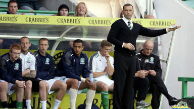 Colin Calderwood was pleased with his players' efforts against Berwick.