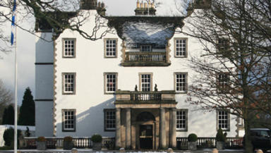 The ceremony will take place at Prestonfield House.