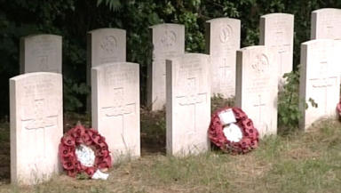 War Graves: 22 killed in bombing.