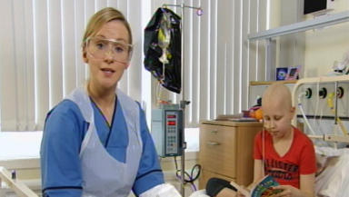 Video: One film, featuring former patient Iona Mills, explains the effects of chemotherapy.
